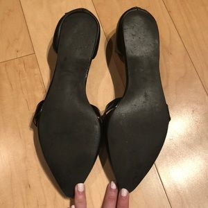 "bp Shoes - Nordstrom BP - Black ""Lovee"" Banded D'orsay Flats"